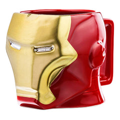 Marvel - Iron Man Coffee Mug (3D Character Head)