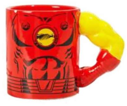Iron Man Coffee Mug - Marvel Molded Muscles