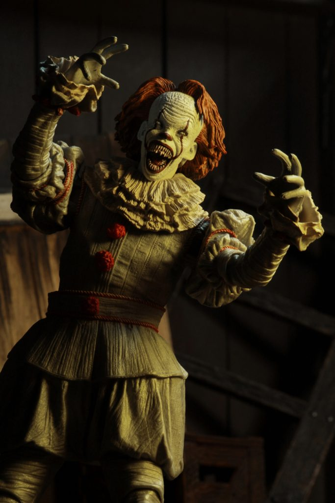 It (2017) - Ultimate Pennywise Well House 7 Inch Action Figure by NECA