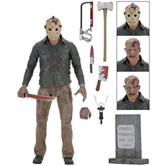Friday the 13th Action Figure - 7 inch Jason from Part 4: The Final Chapter by NECA