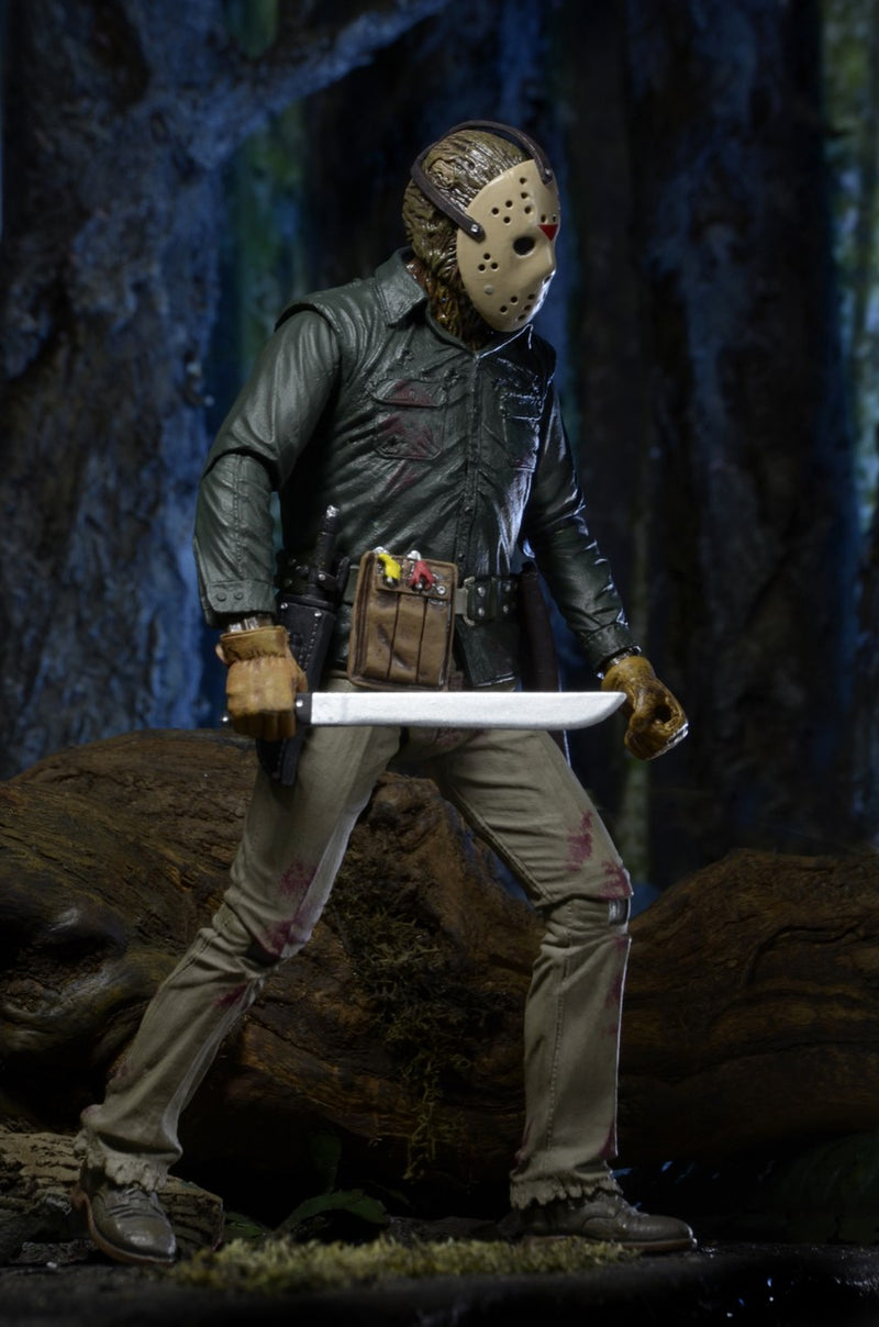 Friday the 13th Action Figure - 7 inch Jason from Part 6 Jason Lives by NECA