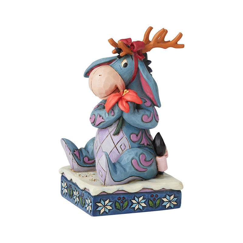 Jim Shore - Eeyore (Winnie the Pooh) Christmas Personality Pose (Disney Traditions Figurine)