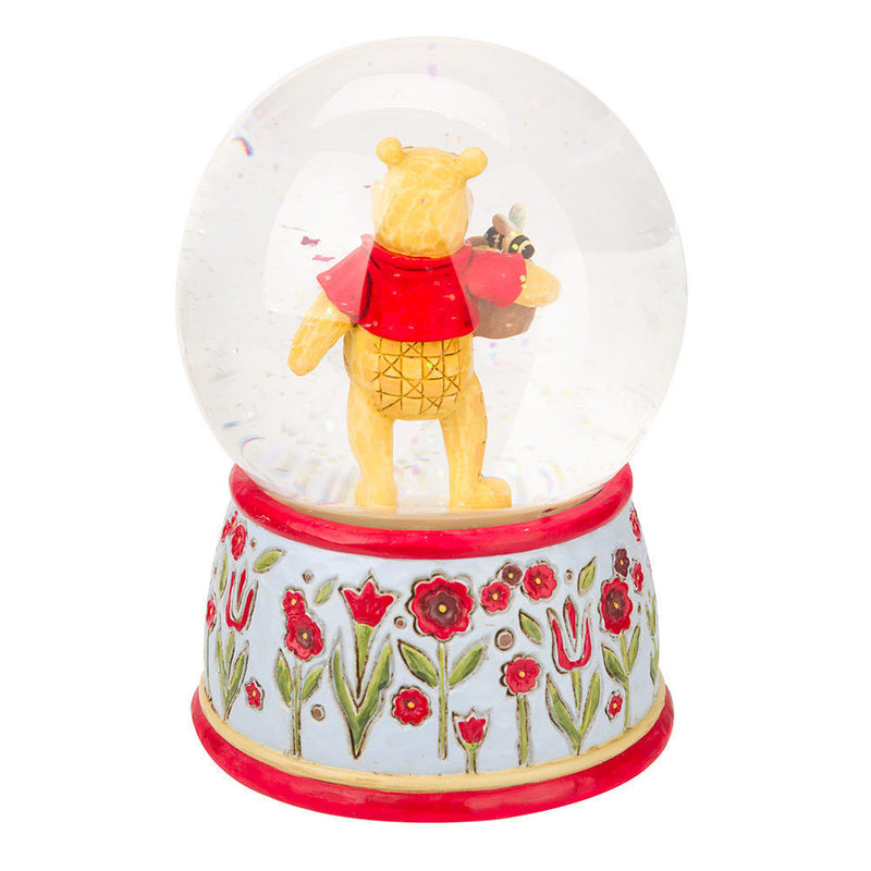 Jim Shore - Winnie the Pooh Water Ball (Snow Globe) Disney Traditions