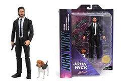 John Wick Action Figure 7 Inch with Dog by Diamond Select