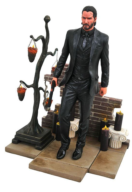 John Wick Statue - 23cm PVC Movie Figure by Diamond Select