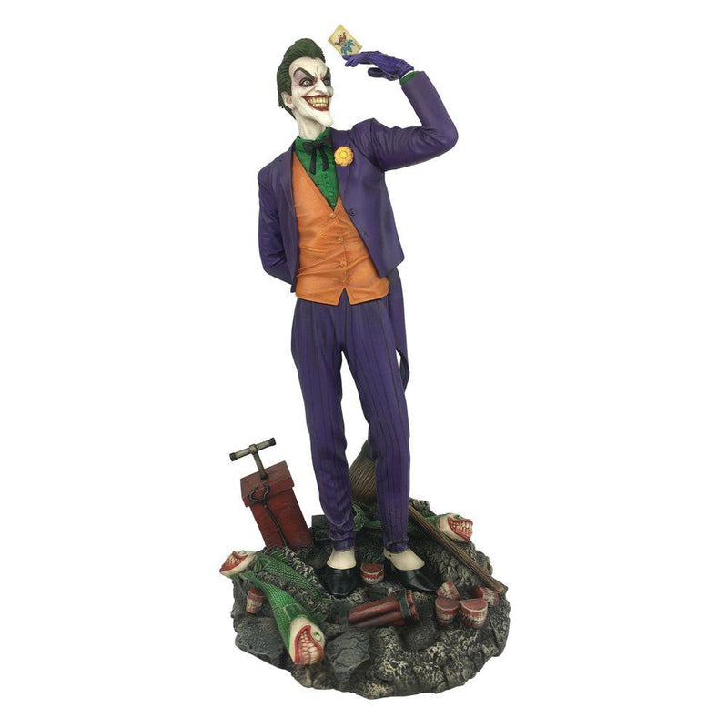 The Joker Statue 23cm PVC DC Gallery (Classic Comics Look) by Diamond Select