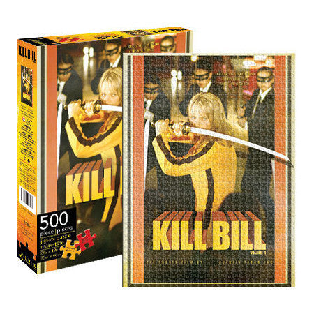 Kill Bill Puzzle - 500 Pieces Movie Stuff