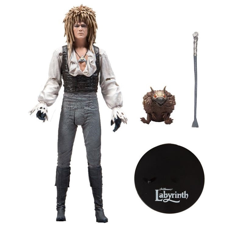 Labyrinth Action Figure - Jareth / Bowie Dance Magic 7 Inch by McFarlane