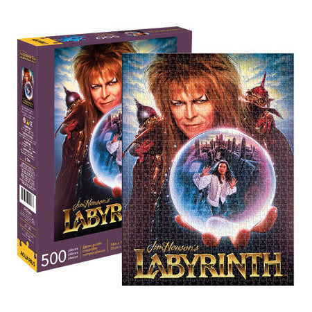 Labyrinth Puzzle - 500 Pieces Movie Poster