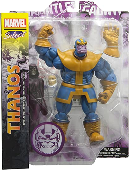 Thanos Action Figure by Diamond Select Toys (Comic Style)