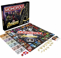 Marvel Avengers Monopoly (Special Celebration Movie Edition)