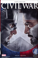 CIVIL WAR COMIC COLLECTION HARDCOVER (MOVIE COVER)