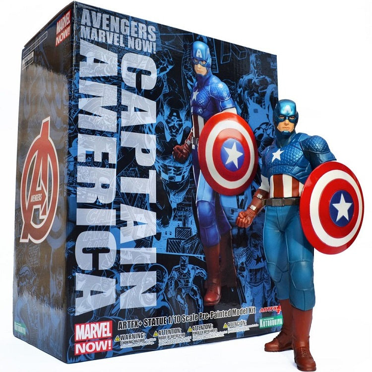 Marvel Avengers Now Captain America Statue Kotobukiya ArtFX 1/10th Scale