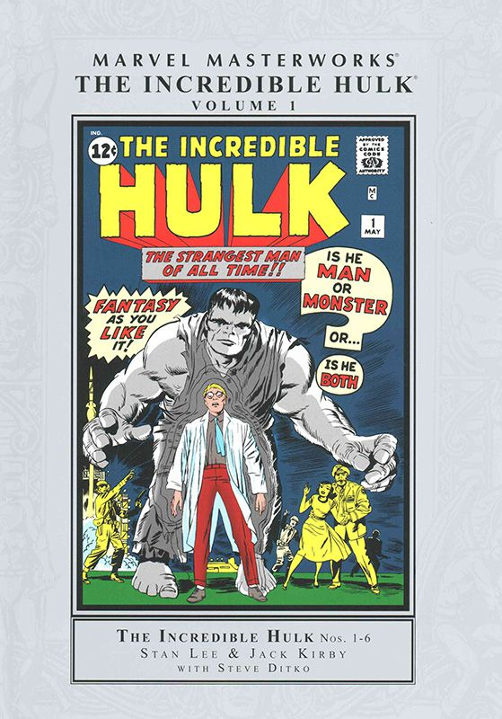 MARVEL MASTERWORKS INCREDIBLE HULK HARDCOVER VOLUME 01 NEW PTG