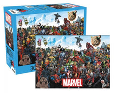 Marvel Puzzle - Hero Icons Collage (1000 Pieces)