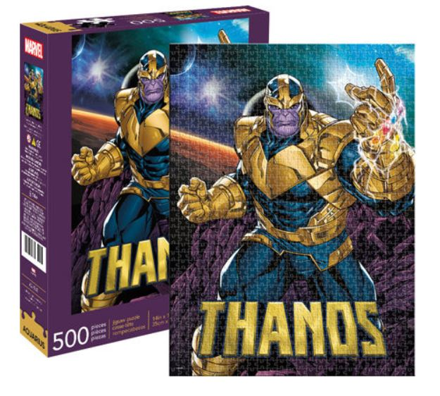 Marvel Puzzle - Thanos (Classic Comic) 500 Pieces