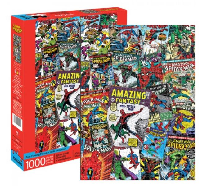 Marvel Puzzle - Amazing Spiderman Collage (1000 Piece)