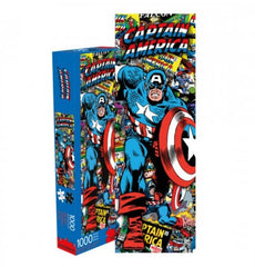 Marvel Puzzle - Captain America Slim Collage (1000 Piece)