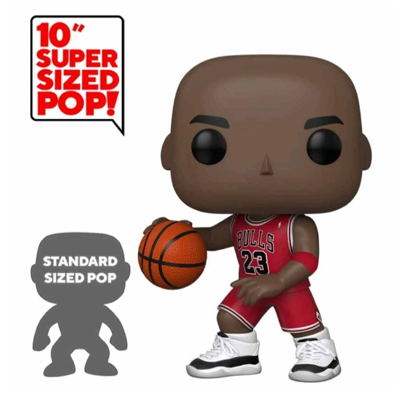 NBA Pop! Vinyl - Michael Jordan Large 10 Inch Super Size