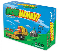 Mow Money Card Game - Reverse Auction