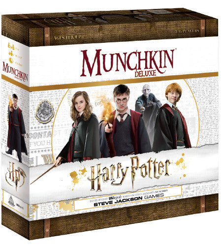 Munchkin Harry Potter (Deluxe Card Game)