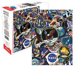 NASA Puzzle - Space Mission Patches (1000 Pieces)