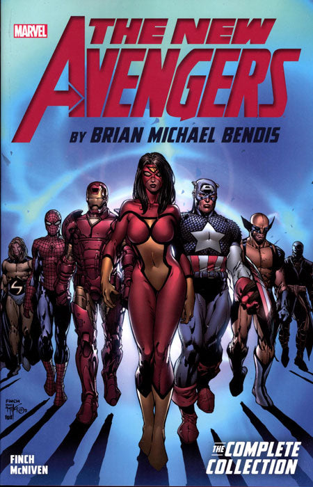 NEW AVENGERS BY BENDIS COMPLETE COLLECTION TRADE PAPERBACK VOLUME 01