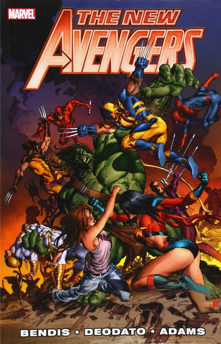 NEW AVENGERS BY BRIAN MICHAEL BENDIS TRADE PAPERBACK VOLUME 03