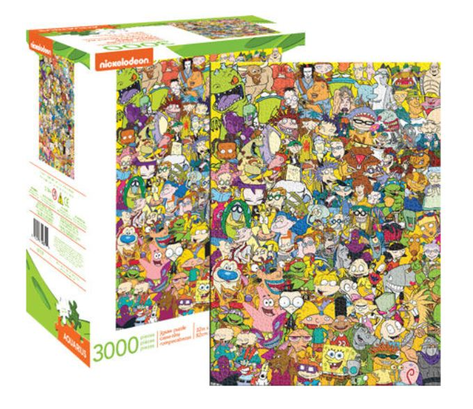 Nickelodeon Puzzle - 90s Cartoon Collage (3000 Pieces)