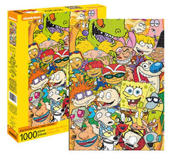 Nickelodeon Puzzle - Cartoon Classic Cast (1000 Pieces)