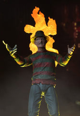 Freddy Krueger Action Figure 7 Inch Scale Ultimate from Nightmare on Elm Street 2 by NECA