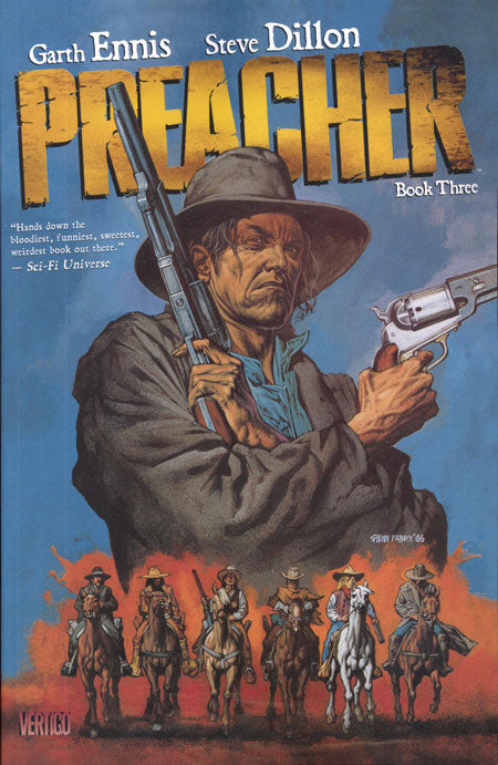 PREACHER TRADE PAPERBACK BOOK 3 (Issues 27 - 33)