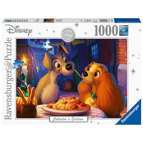 Ravensburger Puzzle - Disney Lady and the Tramp (1955) 1000 Pieces