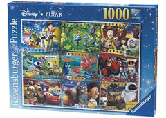 Ravensburger Puzzle - Disney Pixar Movie Stuff (1000 piece) - Edition 2