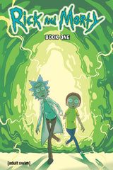 RICK & MORTY HARDCOVER BOOK 01 COLLECTION (296 PAGES)