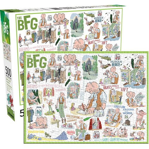 Roald Dahl Puzzle - The BFG (500 Pieces)