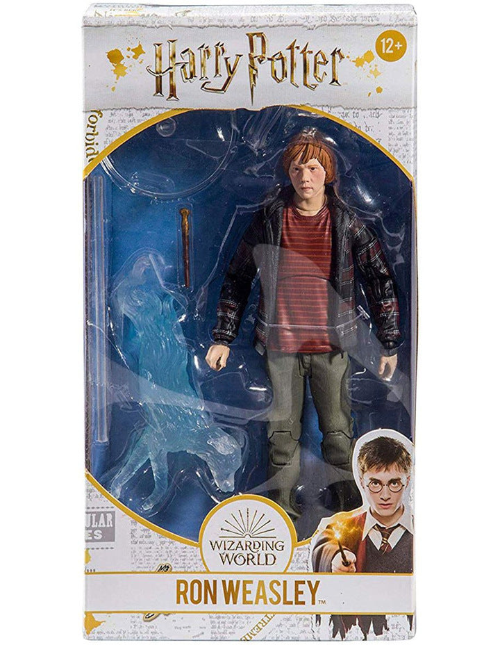 Harry Potter Action Figure - Ron with Patronus (McFarlane Toys 7 Inch Scale)