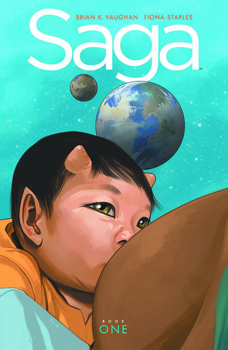 SAGA HARDCOVER DELUXE EDITION VOLUME 1 (Vaughan & Staples)