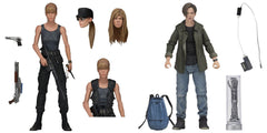 Terminator 2 - Ultimate Sarah and John Conner 7 Inch Scale Action Figure 2-Pack by NECA