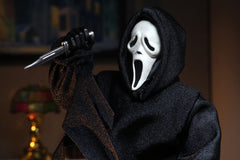 Scream - Ghost Face Horror Action Figure (8 Inch Clothed Retro Style) by NECA
