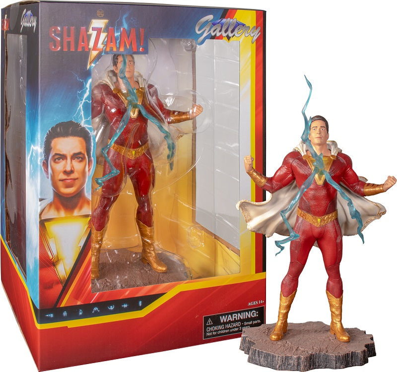 Shazam Statue (2019 Movie) 22cm PVC DC Gallery by Diamond Select
