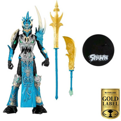 Spawn Action Figure - Deluxe Mandarin Gold Label Collector Series 7 Inch Scale by McFarlane Toys