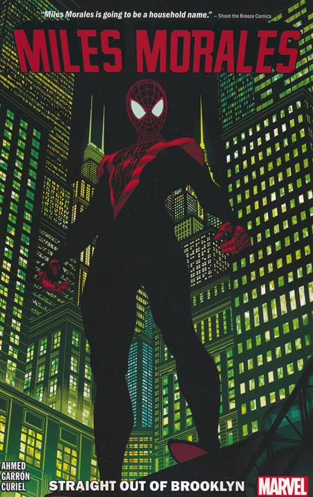 SPIDERMAN: MILES MORALES TRADE PAPERBACK VOLUME 1 STRAIGHT OUT OF BROOKLYN