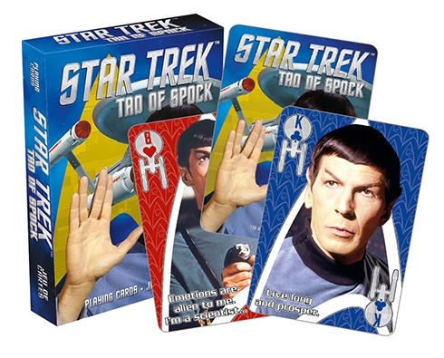 Playing Cards - Star Trek (Tao of Spock)