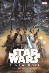 STAR WARS EPISODE 4 HARDCOVER NEW HOPE