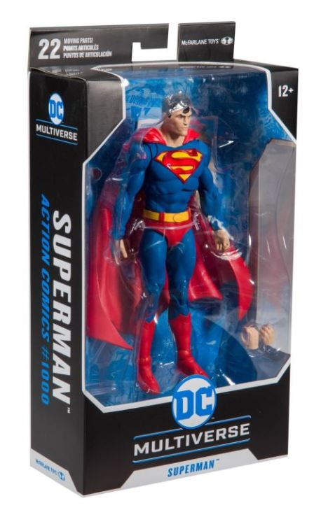 Superman Action Figure - 7 Inch Action Comics 1000 by McFarlane Toys
