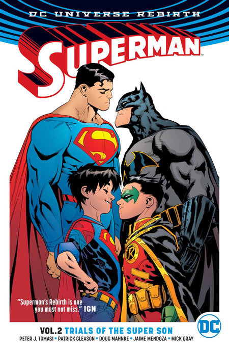 SUPERMAN TRADE PAPERBACK 2016-18 VOLUME 2 - TRIALS OF THE SUPER SONS (REBIRTH)