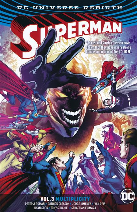 SUPERMAN TRADE PAPERBACK 2016-18 VOLUME 3 - MULTIPLICITY (REBIRTH)