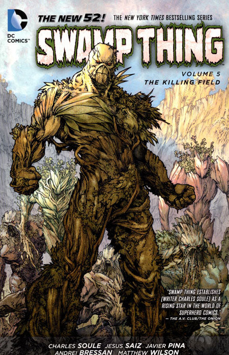 SWAMP THING TRADE PAPERBACK VOLUME 05 THE KILLING FIELD (NEW 52)