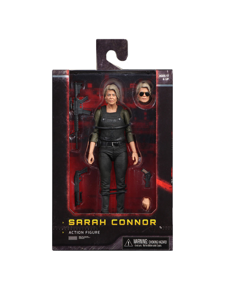 Terminator Action Figure - Sarah Connor from Dark Fate (2019) 7 Inch Scale by NECA